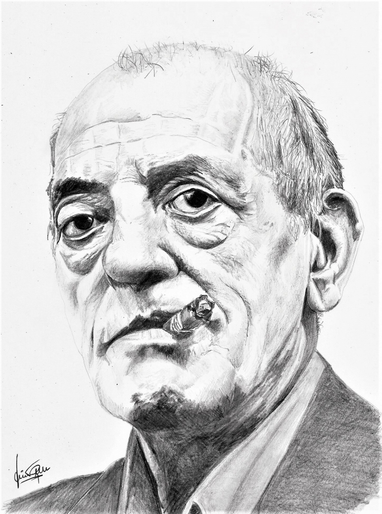 Luis Buñuel by JumpingJack